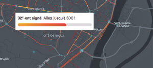 """<small> pétition D906 cyclable : </small>L'enjeu """"nationale"""" du plan vélo de Mâcon"""