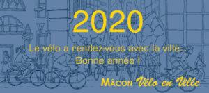 """""""Que 2020 soit une année faste pour le vélo dans notre belle agglomération mâconnaise !"""""""