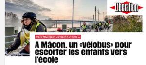 <small>libération.fr : </small>Cool, le vélobus de Mâcon !