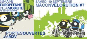 <small>semaine de la mobilité : </small>19 septembre, deux rendez-vous en faveur du vélo