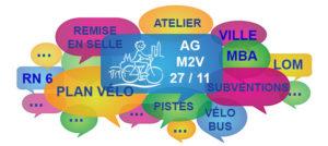 Mâcon Vélo en Ville vous invite à son assemblée générale... en ligne, vendredi 27 novembre, à 19 h 30