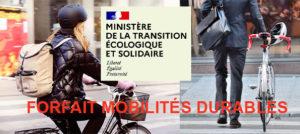 """Forfait """"mobilités durables"""" : Profitez-en sans tarder !"""