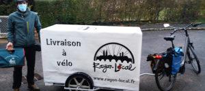 Rayon Local, un service de livraison à vélo dans l'agglomération mâconnaise
