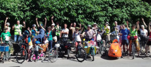 <small>Cluny, 16 juin : </small>Vélo, le soleil brille !